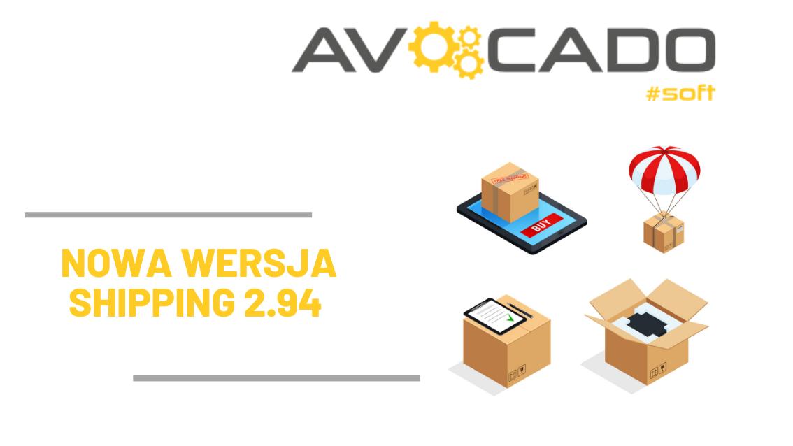 nowa wersja shipping aktualizacja